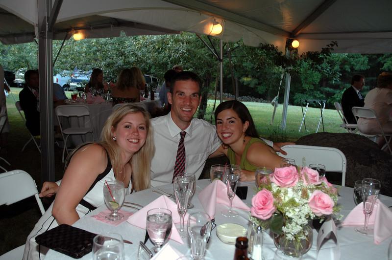 Amanda Sloan, Darren Towers, Laura Towers