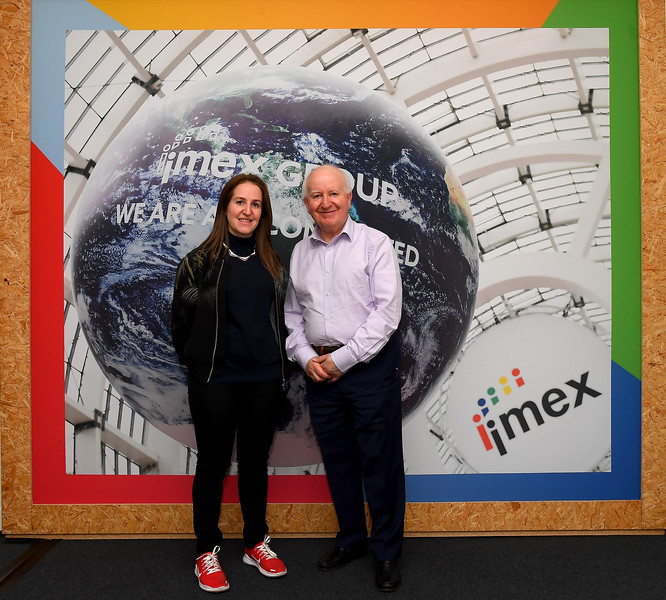 Carina Bauer and Ray Bloom, IMEX 2019