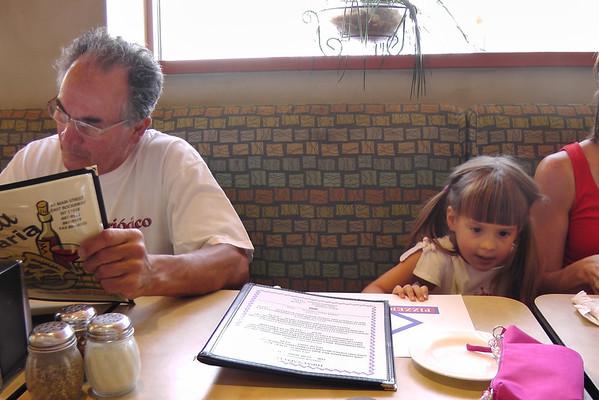 Visiting  Dad and Susan