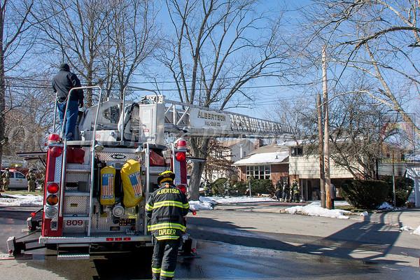 Albertson House Fire 02/14/2016