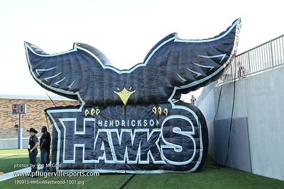 Hendrickson Hawks Football