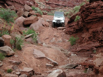 Trails Around Moab 2005
