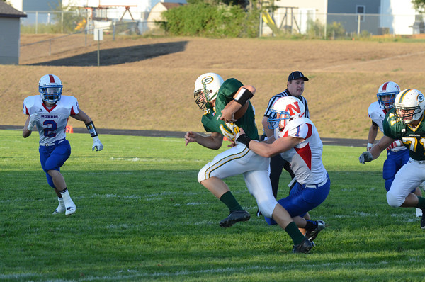 Varsity Football vs Gretna, 9-7-12