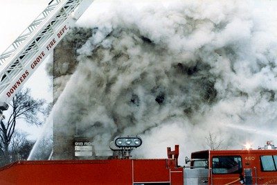 ROGERS STREET FIRE  DECEMBER 31 1983   MINUS 27 ACTUAL TEMPERATRES