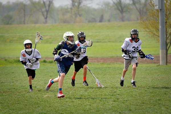 Junior Mustang Lacrosse April 2014