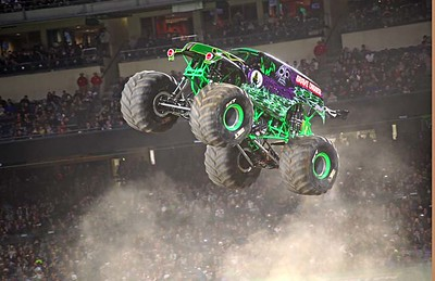 MONSTER JAM ANAHEIM JAN. 13, 2018