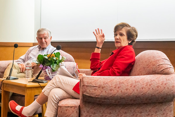 A Personal and Family Story with Kitty and Michael Dukakis 10/10/19