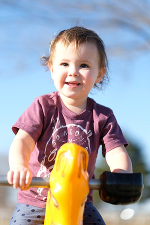 Ayla at Rader Park  3/9/19