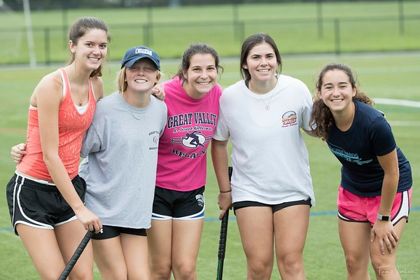 Great Valley High School Field Hockey Practice - Aug 2017