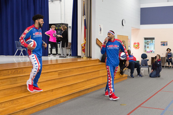 Harlem Globetrotters at Bay Elementary