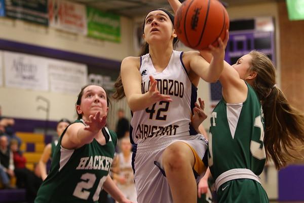 Basketball Girls JV vs Hackett - 2/15/18