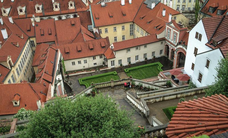 Prague Castle complex, gardens