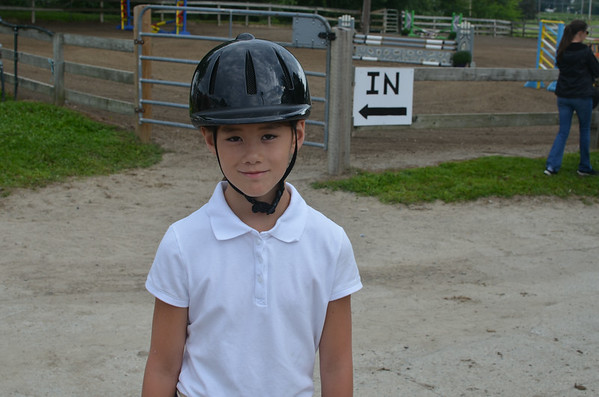 Isabella - First Horse Show Aug 17, 2014