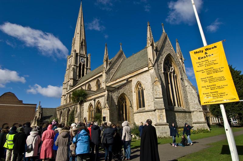 Easter Mass, Ealing 2008