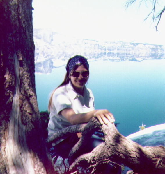 Connie at Crater Lake, Oregon .jpg