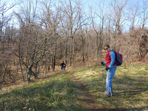 Sky Meadows Circuit Hike 12-3-11