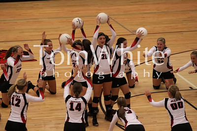 Mena vs Ftn Lake - LadyCat Volleyball 2012