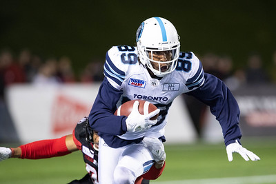 20181102 Argonauts vs Redblacks
