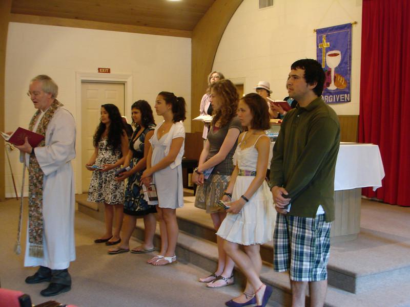 Park Street Christian Church Graduates 2009 May 011.jpg
