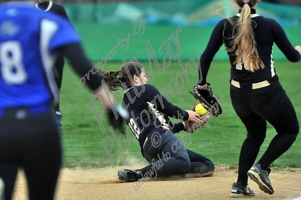 Berks Catholic vs Oley Girls Softball 4/25/2014