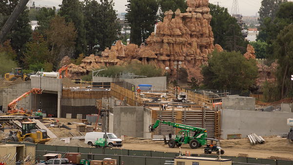 Disneyland Resort, Disneyland, Star Wars Land, Star Wars, Frontierland, Rivers Of America, Rivers, River, America, Mickey, Friends, Parking, Structure, Mickey and Friends Parking Structure