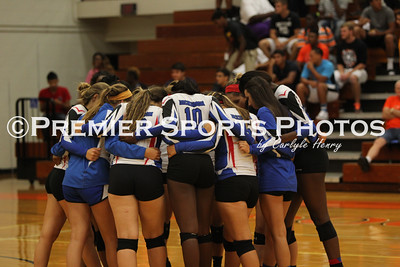 La Porte Varsity Volleyball vs Dickinson 9/9/2014