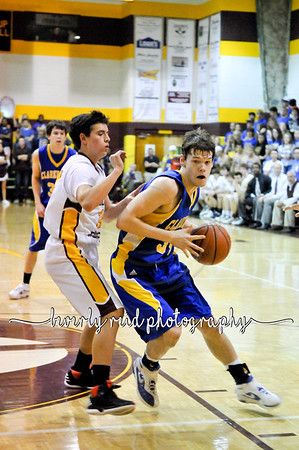 2012 030512 Mens Basketball Grace vs. Clarkrange