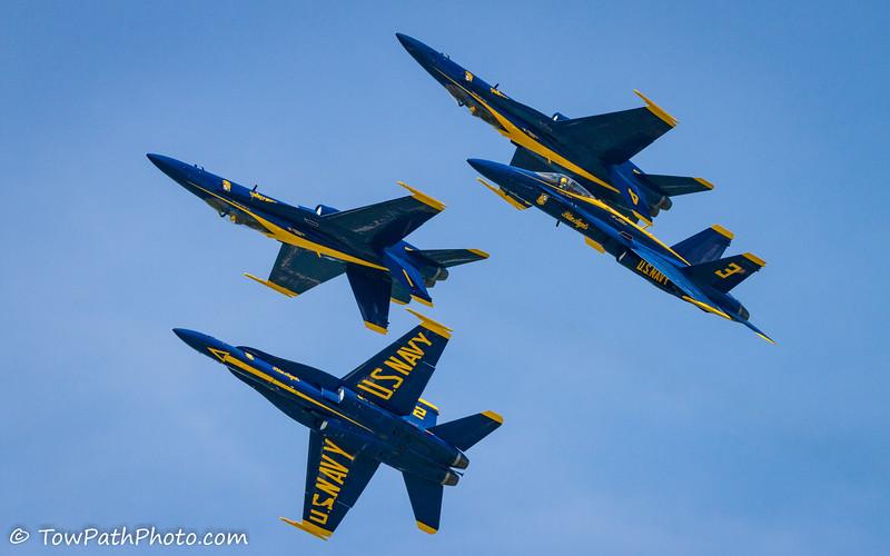 USN Blue Angels (F/A-18 Hornet)