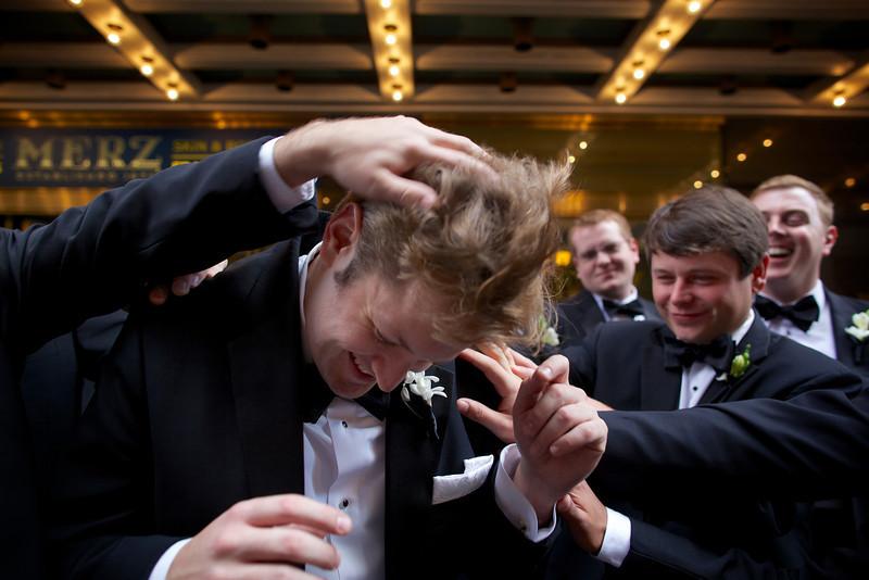 Le Cape Weddings - Chicago Cultural Center Weddings - Kaylin and John - 08 Groom Creatives 13