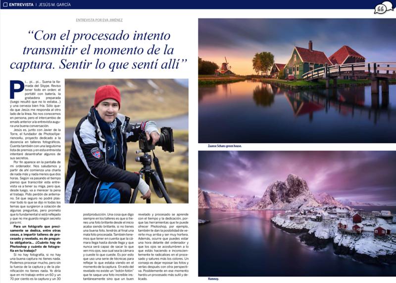 Fotógrafo Noctuno Magazine N5 - Entrevista 2017