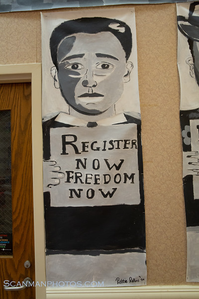 Why Vote?  Civil Rights Art Project 2019