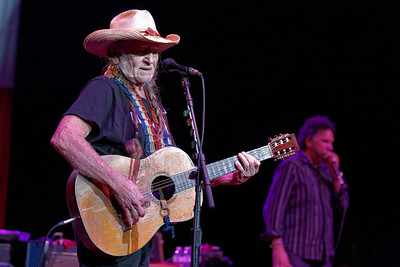 Willie Nelson at Freedom Hill
