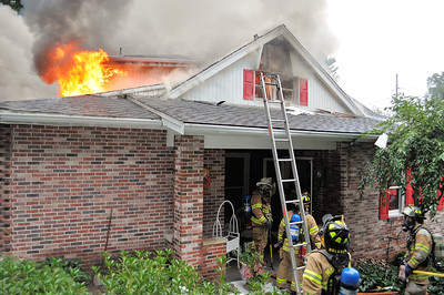 Pine Township residential structure fire Brennan Road