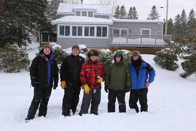 Maine 2014 - Ice Fishing Trip