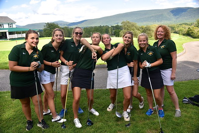 Meet The Burr and Burton Varsity Girls Golf Team photos by Gary Baker