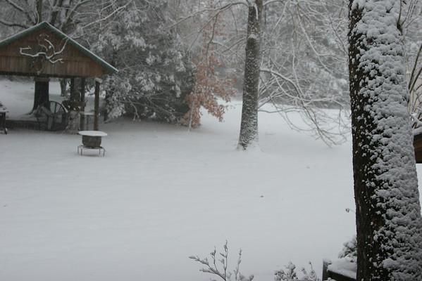 Christmas Day Snow 2012