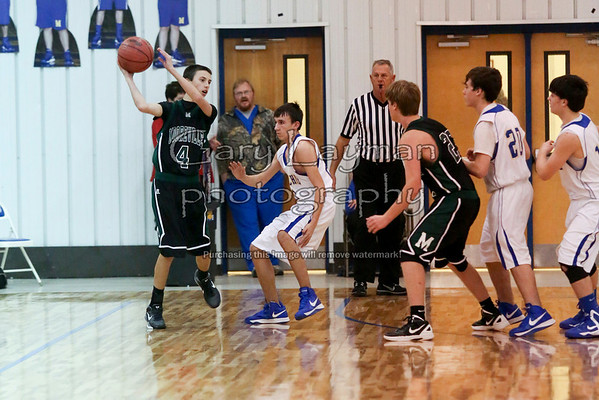 Mooreville at Mantachie B 1-15-13