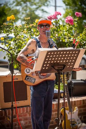 Loren O at Blacksmith Square, 6/30/19