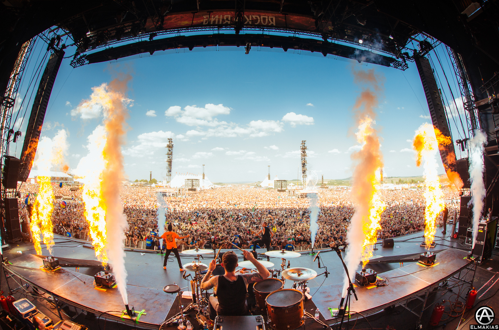 A Day To Remember live at Rock AM Ring
