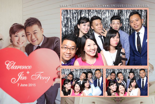 Clarence + Jin Feng Photo Booth Album
