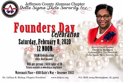107th Founders Day Luncheon
