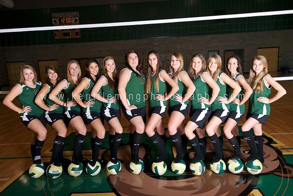 HBCS Volleyball Team 2012