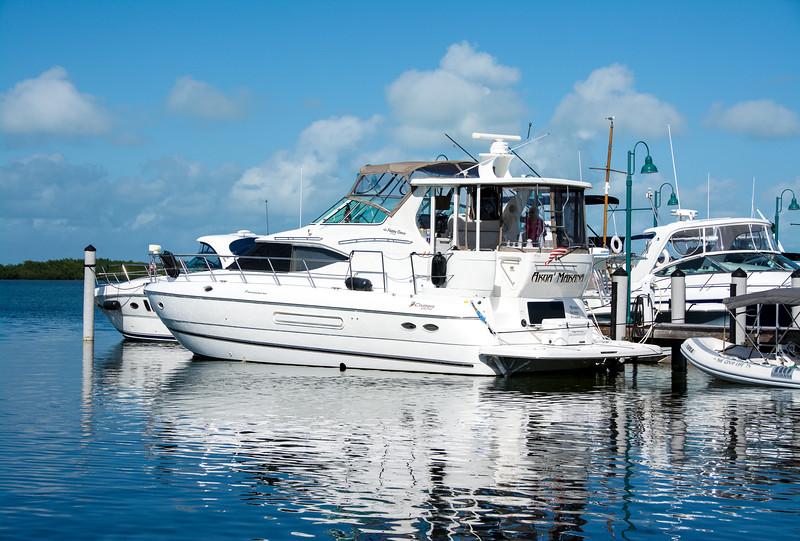 Boat at Islamorada Fish Company