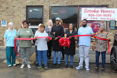 Ribbon cutting held for The Smoke House