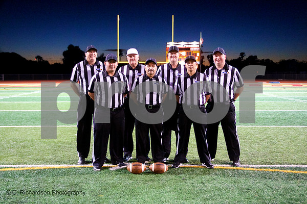 Officials Chaparral vs Mountain Point 10-12-18