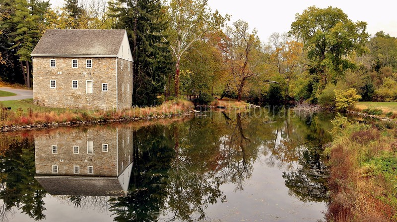 Grings Mill in Autumn Reading PA