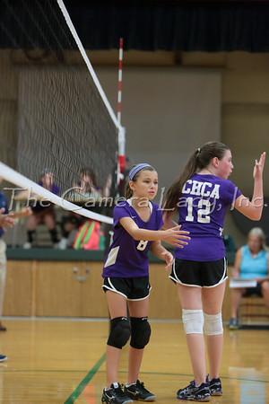 CHCA 2014 MS Volleyball Team B vs CCD 08.28