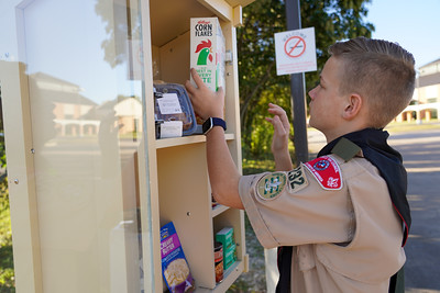 St. Joseph Eagle Scout's Blessing Box