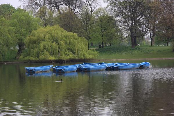Royal Botanical Gardens and Regents Park, UK April 09