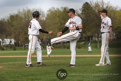 5-16-14 Minneapolis south v Minneapolis Washburn Baseball - Game 2